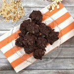 CHOCOLATE ALMOND PRETZEL CLUSTERS