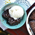 EASY CHOCOLATE COBBLER