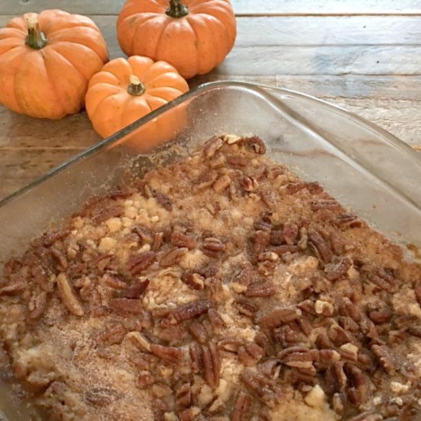 Dump Cake Using Pumpkin