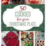 50 COOKIES FOR YOUR CHRISTMAS PLATE