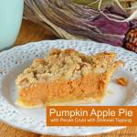 PUMPKIN & APPLE PIE