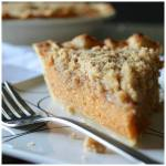 STREUSEL TOPPED SWEET POTATO PIE