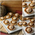 MINI SWEET POTATO PIES WITH CINNAMON CREAM CHEESE FROSTING