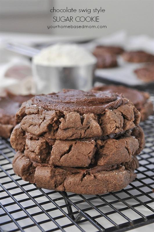 Chocolate Swig Sugar Cookie