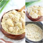 CREAMY  CHEESY SLOW COOKER POTATOES