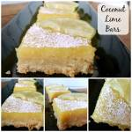 COCONUT LIME BARS