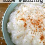 ️ Classic Vanilla Rice Pudding
