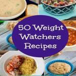 50 WEIGHT WATCHERS RECIPES