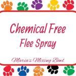 Chemical Free Flee Spray