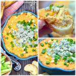 CHEESY BUFFALO CHICKEN WING DIP