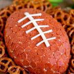 PEPPERONI PIZZA FOOTBALL CHEESE BALL