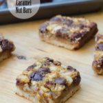 CHOCOLATE CARAMEL NUT BARS
