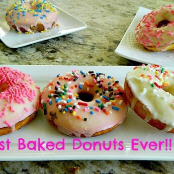 BEST BAKED DONUTS EVER