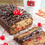 CHERRY CHOCOLATE BANANA BREAD