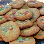 THE BEST EVER M&M COOKIES
