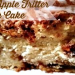 BEST APPLE FRITTER CAKE