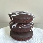 Wacky Chocolate Cake Donuts