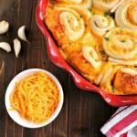 Buttery Garlic Cheddar Rolls