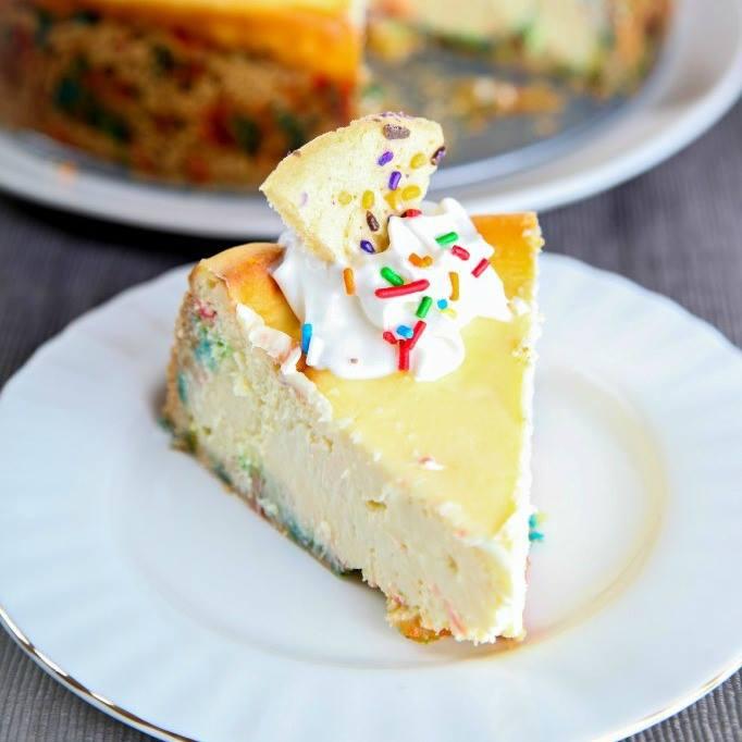 Homemade Cake Batter Cheesecake Marias Mixing Bowl