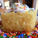 Crockpot Vanilla Yogurt Cake
