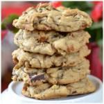 Thick Chocolate Chunk Pecan Cookies