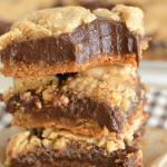 Peanut Butter Fudge Cookie Bars
