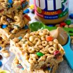 No Bake Peanut Butter Cereal Butter Cereal Bars