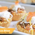 Mini Taco Bites Low Carb and Gluten Free