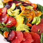Citrus Salad with Basil Vinaigrette