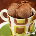 Simple 2 Ingredient Chocolate Banana Ice Cream