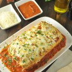 Stuffed Chicken Parmesan Meatloaf~Low Carb, Gluten Free