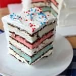 Patriotic Icebox Cake