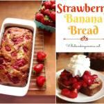 Homemade Strawberry Banana Bread