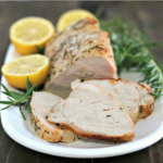 Lemon Rosemary Pork Tenderloin