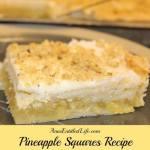 Pineapple Squares Recipe