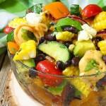 Corn and Black Bean Tortellini Salad