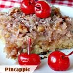 Pineapple Sheet Cake