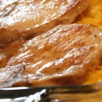 Pork Chop and Hashbrown Casserole Dinner