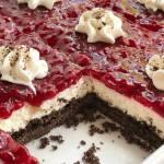 Chocolate Raspberry Cheesecake Delight