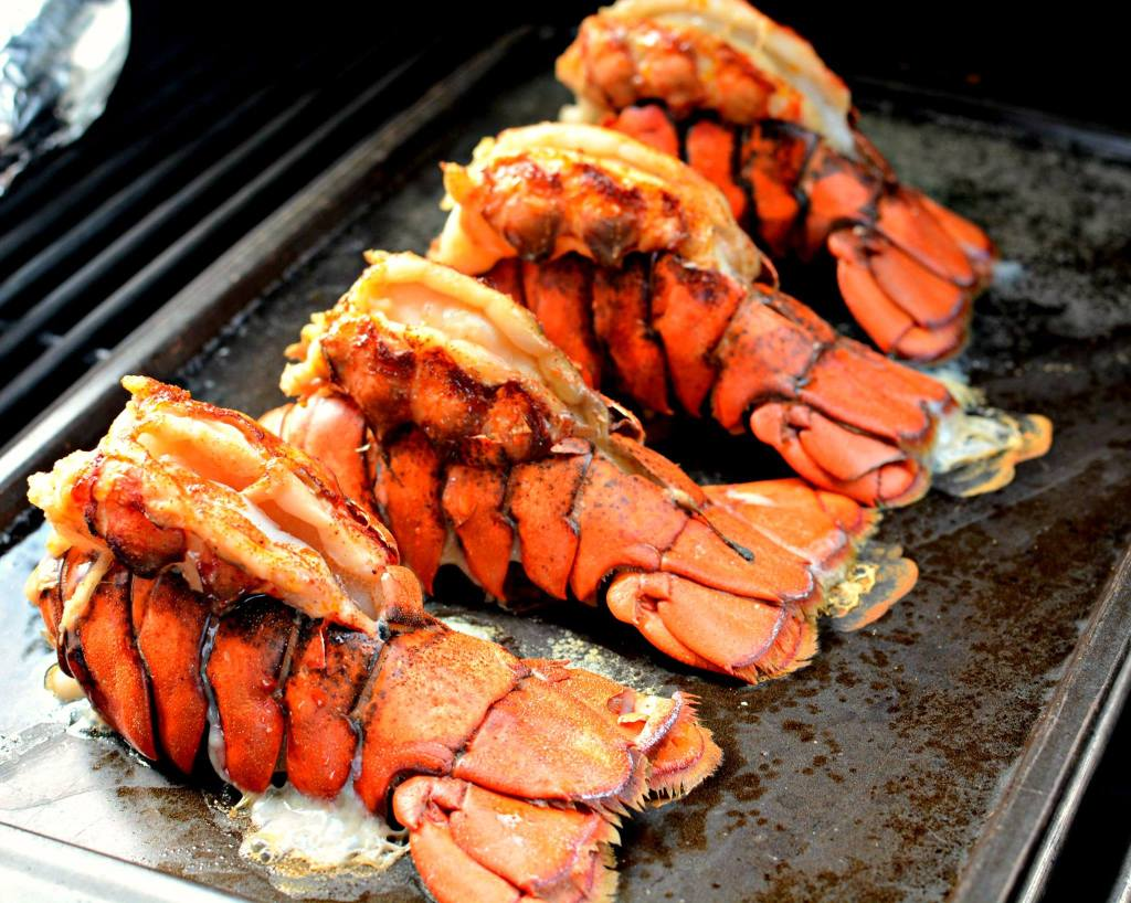 Grilled Lobster Tails - Maria's Mixing Bowl