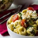 Tortellini Pasta Salad with Lemon Vinaigrette