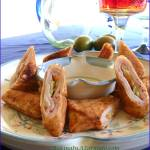 Chipotle Cordon Bleu Egg Rolls
