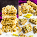 Lemon Cream Crumb Bars