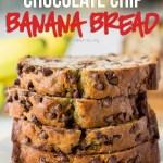 One Bowl Chocolate Chip Banana Bread