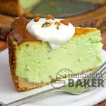 Pistachio Cheesecake