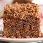Chocolate Zucchini Coffee Cake