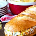 Chicken Bacon Ranch Stuffed Bread