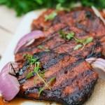 Southern Glazed Pork Chops