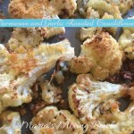 Parmesan and Garlic Roasted Cauliflower