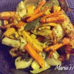 Roasted Mediterranean Root Vegetables